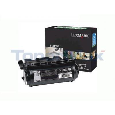 LEXMARK T644 RP PRINT CARTRIDGE BLACK 6K